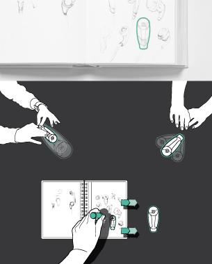 Jessica Behnsen | table.work  Gefilterte Inhalte eines analogen Mediums, intuitiv, digital darstellen und editierbar machen.  je.behnsen@googlemail.com