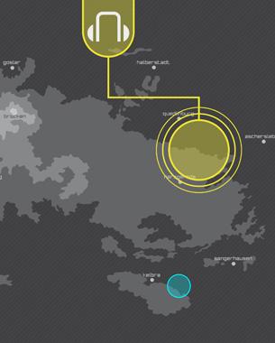 Lina Tegel u. Susanne Speh | Interactive Exhibits   Im Schatten der Bäume treiben viele geheimnisvolle Fabeln ihr Unwesen. Zahlreiche Märchen und Sagen ranken sich um den Harz und machen ihn so zu einem mystischen Erlebnis.  Durch unser Exponat kann der Nutzer einige dieser Geschichten nachempfinden und wird so in eine zauberhafte Welt entführt. Ziel unseres Projektes ist es dem Besucher die Möglichkeit zu geben den Harz interaktiv neu zu entdecken.