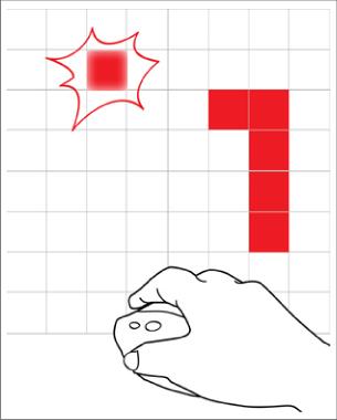 Martyna Wroblewska   Software and Hardware Sketching  Seitdem das Spiel Mitte der 1970'er Jahre veröffentlicht wurde, ist es ein sehr beliebter Klassiker.   Die Schlange kann sich nur in einem begrenzten Bereich bewegen und Futter sammeln. Wenn sie frisst, wächst sie bzw. der Schwanz in die Länge und das Spielen wird schwieriger. Stößt die Schlange an die Wand oder frisst sie sich selbst, stirbt sie.  Das Spiel existiert in verschiedenen Varianten und jetzt auf einer 8×8 LED-Matrix! Wer also Sehnsucht nach seiner Kindheit hat, kann sie nun für eine Weile erneut erleben.