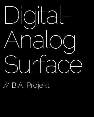 """Das DigitalFabLab ist eine experimentelle Hightech Werkstatt. Es soll einen direkten Austausch zwischen Designer und Produktionsmaschinen generieren, der den Prozess der Fertigung analoger Produkte aus digitalen Vorlagen vereinfachen und dynamisieren soll. Ziel ist es, den Workflow der Desktop-Fabrikation in einen interaktiven Designprozess zu integrieren, um individualisierte Muster auf Klick zu generieren und exemplarisch industriell zu produzieren. Im Projekt schaffen wir uns dafür eigene Tools: """"bohren, hobeln, fräsen, kratzen - wo Bilder bearbeitet werden, fallen Späne"""".   Prof. Steffi Hußlein, Dipl. Des. Robert Laux, Dipl. Des. Michael Bertuleit"""