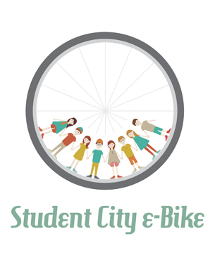 // My idea is e-bike sharing for students in Ljubljana. I will present my idea with a vector illustration and animation. Ljubljana is the capital city of Slovenia and has a lot of students who have a wide choice of different faculties. There is public transport in the city, but it is also very crowded and the streets have a lot of trafic, so we need a lot of time to go from one place to another. 