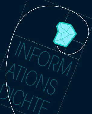 // Unser Ausstellungskonzept stellt es dem Museumsbesucher frei selbst über die Fülle an dargestellter Information zu entscheiden.  Mit unserer Applikation verfügt er über einen Regler, der es möglich macht die Informationsdichte zu verändern. Durch Hochdrehen der Dichte deckt er nach und nach weitere Informationen auf, die ihn immer tiefer in die Materie eintauchen lassen.  // Fabian Binde // Laura Evers // Miriam Landenberger